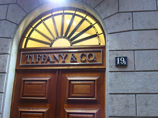 ティファニーの扉のフリー写真素材