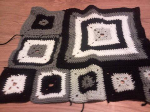 Babette Blanket - sections 1 - 3