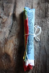 Windhorse prayer flag roll