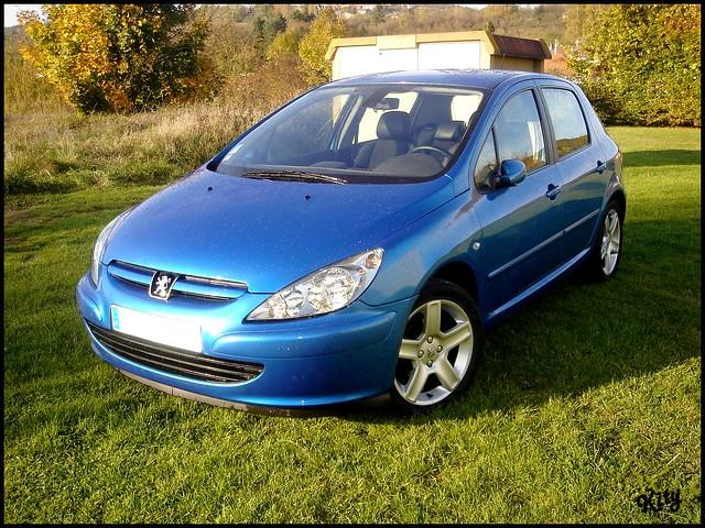 Peugeot 307 XSi. Peugeot visible sur le forum www.peugeotfans.com