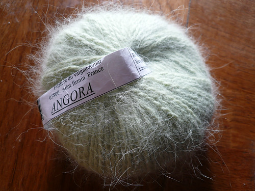 Green angora
