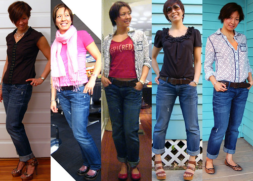 Gap loose bf jeans 01
