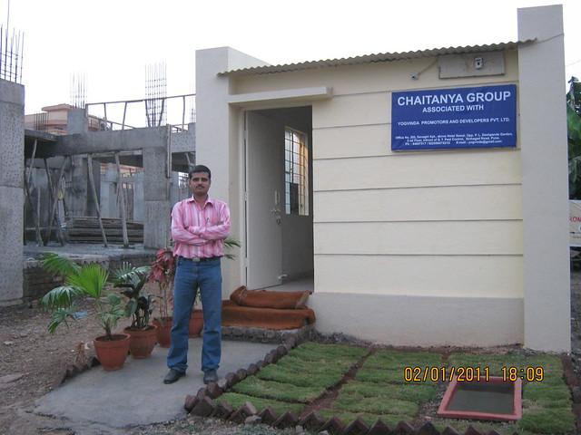 Site office of Spacious 1 BHK Flat for 11 Lakhs at Nanekarwadi Chakan Pune 410510