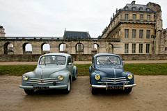 Renault 4cv (dprezat) Tags: classic cars renault collection automobiles voitures vincennes 4cv vincennesenanciennes sonyalpha700