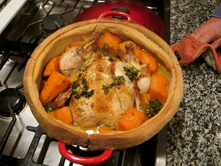 Dorie Greenspan's Chicken in a Pot