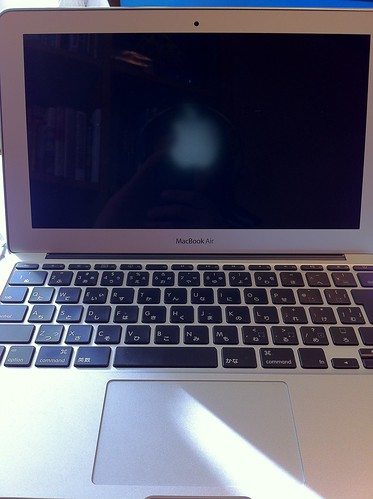 MacBook Air Apple mark