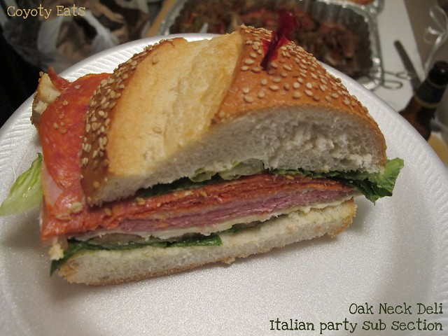Italian party sub section