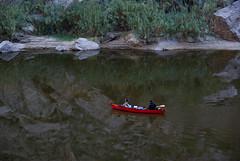 Rio Grande in Santa Elena Cañon, Big Bend National Park.  Texas, USA.