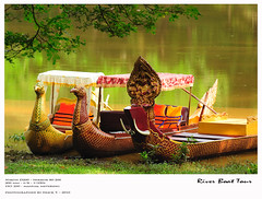 Boat by the river