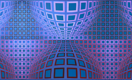 "Victor Vasarely • <a style=""font-size:0.8em;"" href=""http://www.flickr.com/photos/30735181@N00/5324123156/"" target=""_blank"">View on Flickr</a>"