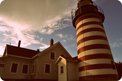 Back in time (Monty-e*) Tags: lighthouse west faro us head maine newengland archives bayoffundy eastcoast lubec westquoddyhead quoddy easternmost nrhp nationalheritageofhistoricplaces