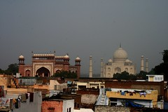 The Taj Mahal, From Our Room