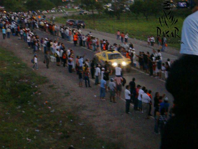 Rally DAKAR 2011, Vivac Jujuy (Imágenes y Video Propios)