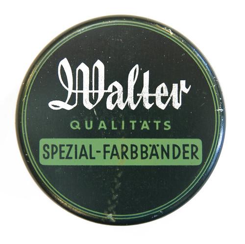 Farbbanddose Walter