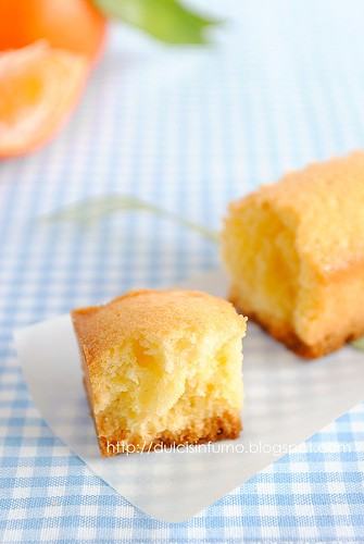 Mini Cake al Mandarino-Tangerine Mini Cakes