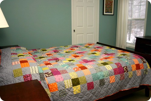 Flower Valley Quilt - complete