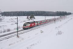 InterCity (pailakka) Tags: winter talvi railroads intercity sr2 rautatiet
