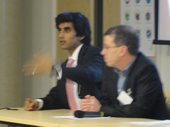 Amit Sinha answers a question on the panel (SFSP) Tags: campus heidi riley pears charlotte craig alexander rees amit smarter sinha stoddart sfsp amitsinha letsbuildasmarterplanet smartercampus sfspuk sfspyork sfspyorkamitsinhasinhasfspukcharlottestoddartcharlottestoddartcraigpearscraigpearsalexanderreesalexanderreesheidirileyheidirileystudentsforasmarterplanet uksfsp studentsforasmarterplanet