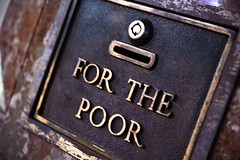 For the Poor Charity Box Basilica of St. by stevendepolo, on Flickr