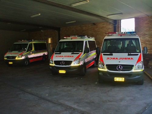 2008 & 2007 Mercedes Benz Sprinter 315 CDi ambulances