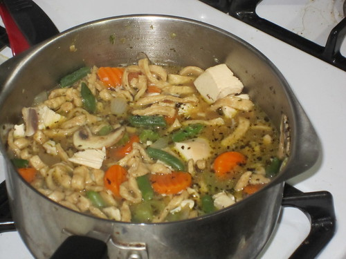 Chicken Soup from Scratch 012