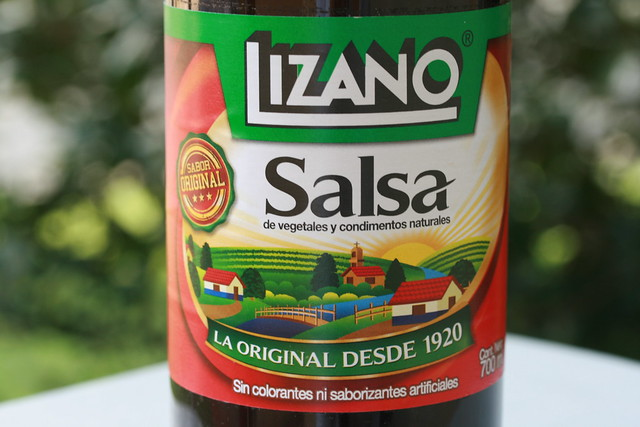 Lizano Salsa from Costa Rica