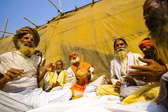 Gangasagar Transit Camp (tanayesh) Tags: india macro nude religion apo spirits spiritual hindu hinduism kolkata dg sadhu westbengal nanga sigma70300mm gangasagar canon400d nangababa incredibleindiaxincrediblex