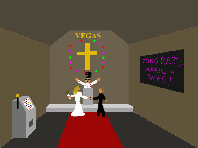 Getting Married in Vegas by Wesley