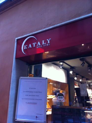 Eataly: Bologna