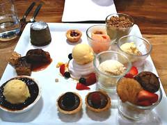 Dessert tasting platter, Graze, Rochester