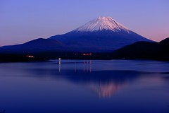 Lake Motosu (Mt.Fuji Evening) (peaceful-jp-scenery) Tags: japan landscape evening explore   hdr mtfuji  motosu    dslra700 sal35f18