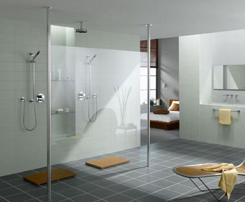 walkthru shower