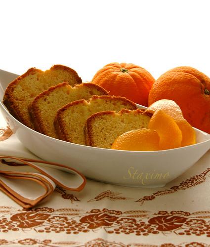 Cake all'Arancia e Grand Marnier