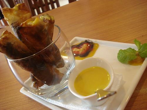 tres cuisine ube langka dessert