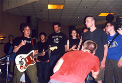 Sweep The Leg Johnny (Sumlin) Tags: camera music rock analog scans zoom super olympus indie gigs shows analogue 1990s alternative 2000s az300