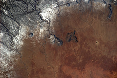 Which crater? (astro_paolo) Tags: nasa crater iss esa meteorcrater internationalspacestation earthfromspace europeanspaceagency expedition26 magisstra