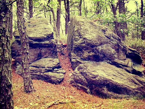Split Rock - Glacial Erratic