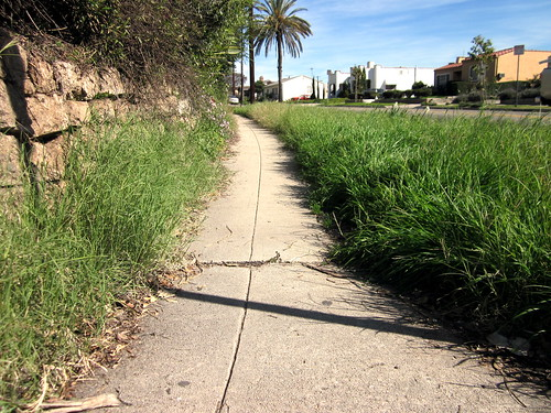 York Blvd Sidewalk By W Ave 42 by Walk Eagle Rock