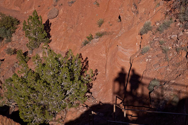 Shadow Photographers at Canyon de Chelley