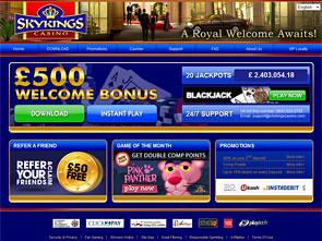 Sky Kings Casino Home