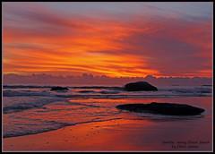 Sunrise Jenny Dixon Beach 085a (Chrisjam2009) Tags: beach sunrise australia nsw centralcoast chrisjames canon60d sunrisejennydixonbeach