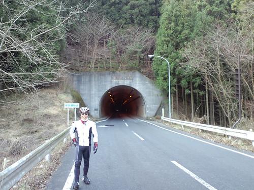 雛鶴トンネルの市長の座をGET!