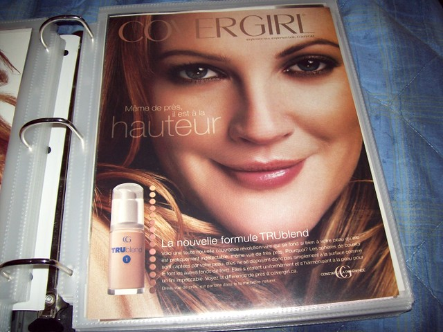 Drew Barrymore - Covergirl Ad by drewsevolution