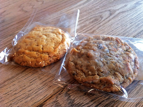Peanut Butter Cookie and Compost Cookie