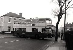 TOC4H - Leamore 1975 (Walsall1955) Tags: bus buses 30 jumbo daimler walsall fleetline 4004 parkroyal prv tightspot wmpte daimlerfleetline westmidlandspte tightturn leamore toc4h jumbofleetline leamoredodger