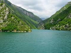 Lake Koman - Albanian Fjords, Albania (waynedunlap) Tags: world travel lake water ferry escape ride plan your fjord now albanian albania fjords koman gurus unhook shkodra fierze unhooknow