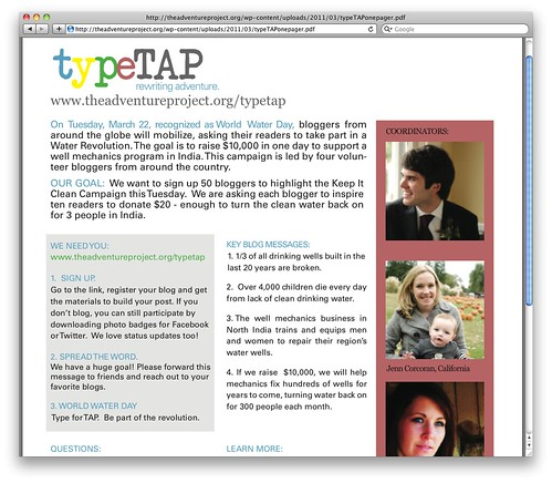 typeTAP Case Study - One Pager