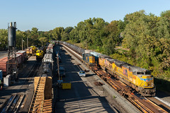 Busy Day at CP-5 (sullivan1985) Tags: newjersey nj railroad railway train freight freighttrain bergencounty cp5 nysw newyorksusquehannawestern susieq yellowjacket ws2 k682 y120 ws3 yard sandtower sball southbound sd60 sd403 sd70ace ac4400cw ge generalelectric emd electromotive up8436 up5576 csxt 4287nysw 3808nysw 3800nysw 3806