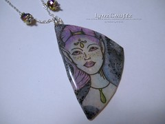 Space & Time (LynzCraftz) Tags: polymerclay resin swellegant steampunk handmade oneofakind jewelry necklace pendant