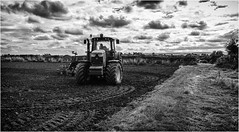 Stainton  . (wayman2011) Tags: fujifilmx100 lightroom wayman2011 bwlandscapes mono farming farmmachinery tractors rural pennines dales teesdale stainton countydurham uk
